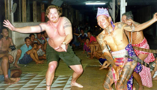 Borneo 2000 - 246 pounds of Shake and Bake