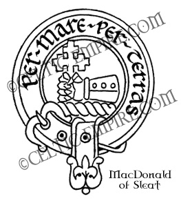MacDonald of Sleat Clan badge