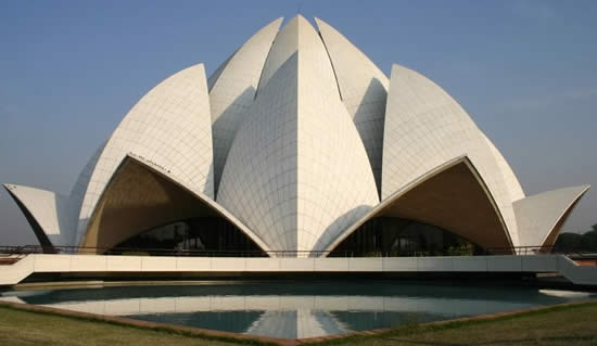 Lotus Temple of the Bahai faith