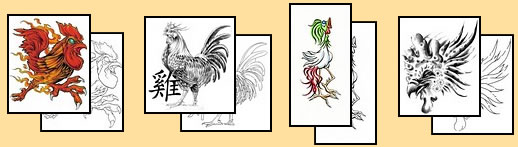 Rooster tattoo meanings