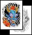 Demon tattoo design ideas