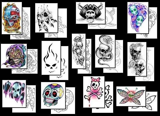 Get your Skull tattoo design ideas here!