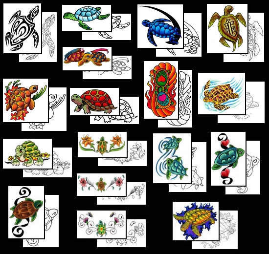 Get your Turtle tattoo design ideas here!