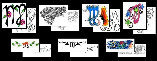 Get your Virgo tattoo design ideas here!
