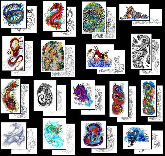 water tattoo designs. (Get your Water Dragon tattoo