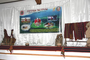 Stage and Kalinga dance performers at the Diddiga Festival. Photograph courtesy of Chico River Quest.com.