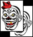 Clown tattoo design meanings