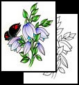 Hyacinth tattoo designs