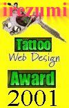 irezumi Tattoo Web Design Award