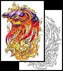 Phoenix tattoo meanings