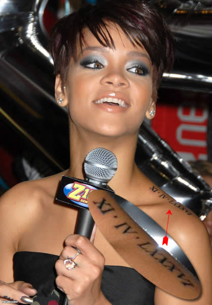 Rihanna Tattoos Songs