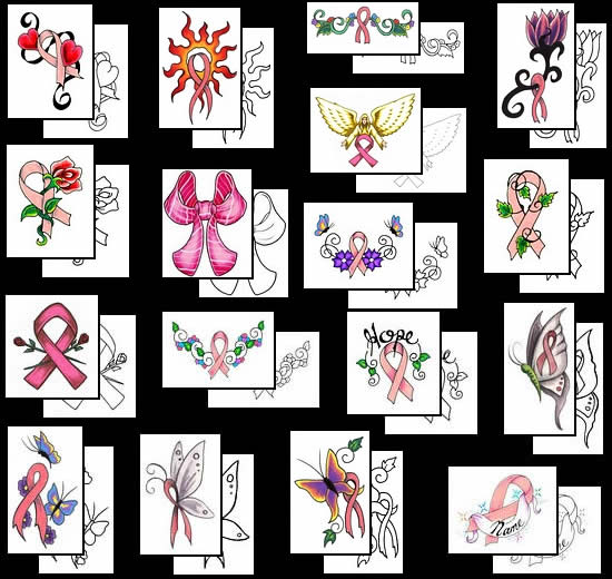 bow tattoos are tattooing by using pink tattoo ink ribbon bow