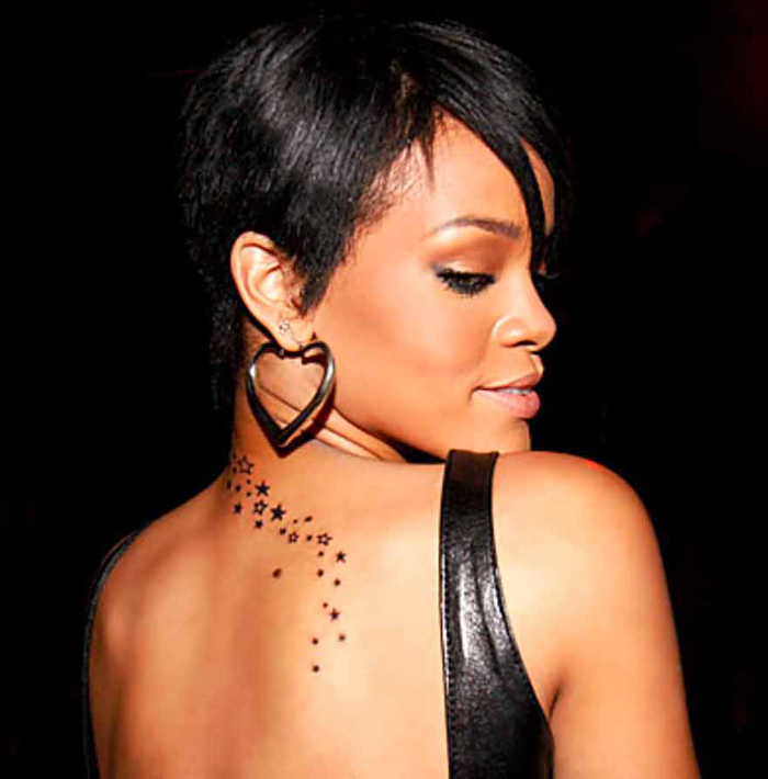 rihanna tattoo pictures. Rihanna Tattoos: Rihanna