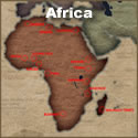 African Tattoo History Map
