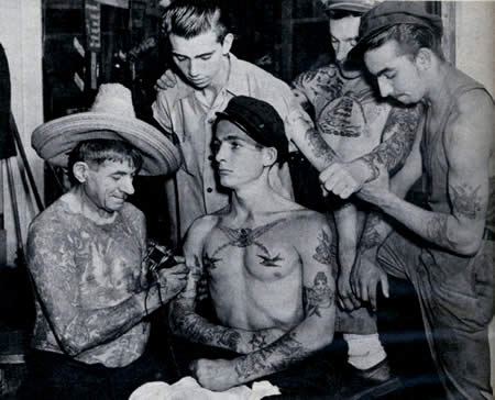 Tattoo History - United States Tattoos - History of ...
